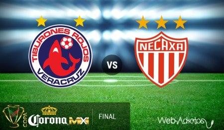 Veracruz vs Necaxa, Final de la Copa MX C2016 | Resultado: 4-1