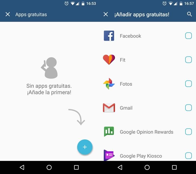 Weplan permite seleccionar las apps que tienes gratis en tu plan - weplan-anadir-apps-gratuitas