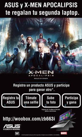 ASUS se alía con 20th Century Fox para el lanzamiento de X-MEN Apocalipsis