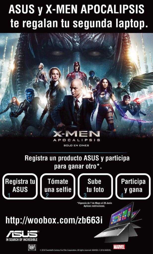 ASUS se alía con 20th Century Fox para el lanzamiento de X-MEN Apocalipsis - asus-xmen