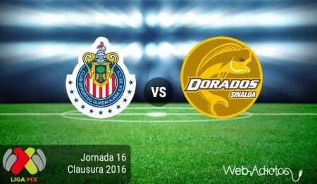 Chivas vs Dorados, J16 del Clausura 2016 ¡En vivo por internet!