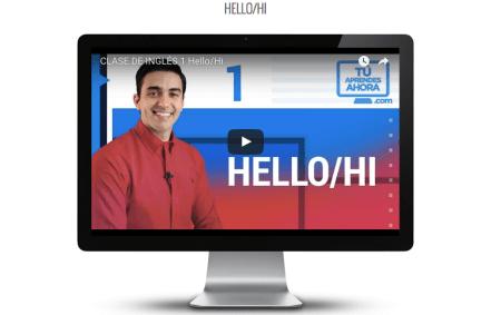 Tú aprendes ahora, plataforma online para aprender inglés de forma fácil