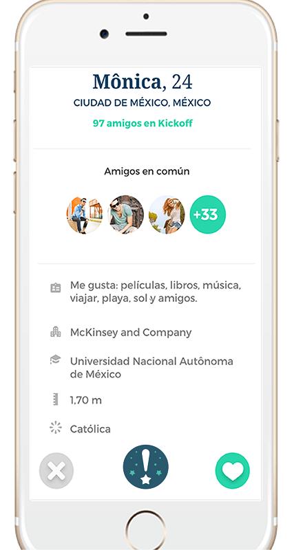 Kickoff: la app de citas, lanza la función WOW - kickoff