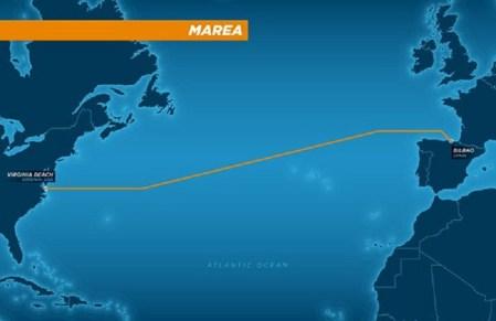 """""""Marea"""", el nuevo cable submarino de Facebook y Microsoft que conectará ambos lados del Atlántico"""