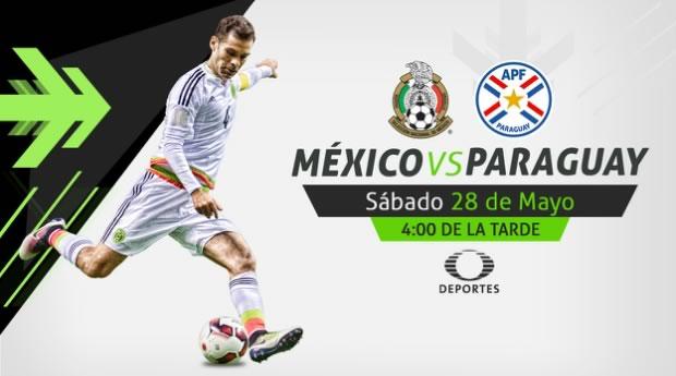 México vs Paraguay 2016, Partidos Amistoso | Resultado: 1-0 - mexico-vs-paraguay-2016-televisa-deportes