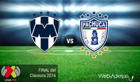 Monterrey vs Pachuca 2016, vuelta de la Final ¡En vivo por Televisa Deportes!