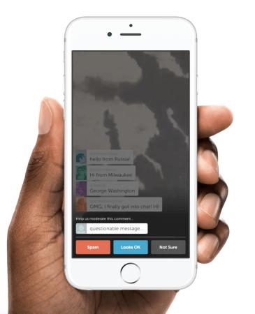 Periscope añade nueva forma de marcar comentarios negativos