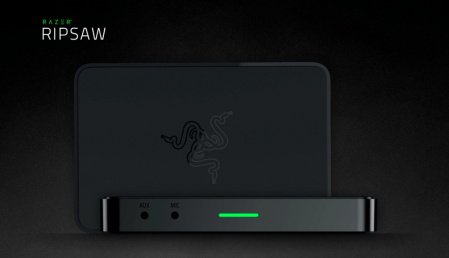 Razer lanza la tarjeta de captura Ripsaw para grabar y transmitir en línea
