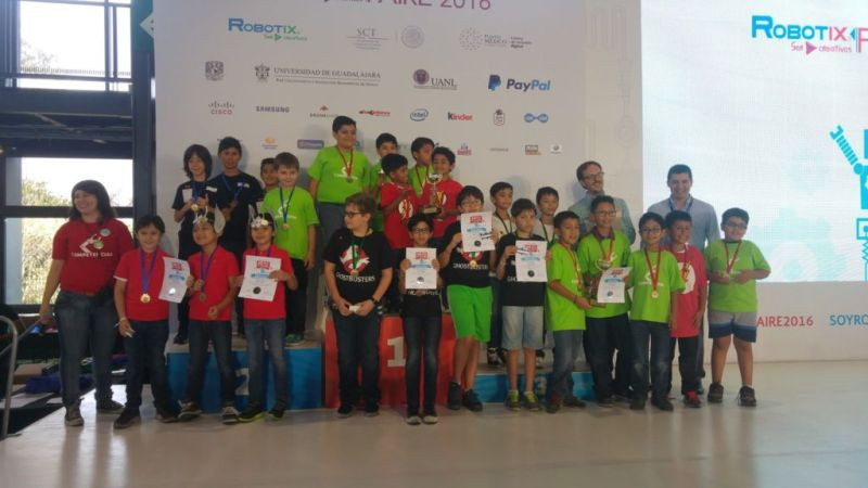 robotix faire 2016 800x450 Niños ganadores de nacional de robótica viajarán a Silicon Valley