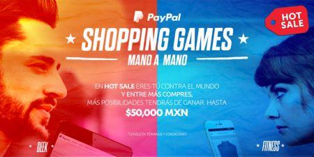 PayPal alista segunda edición de los Shopping Games en HotSale 2016