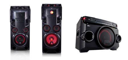 LG anuncia su nueva línea de audio X-Boom Solo 2016
