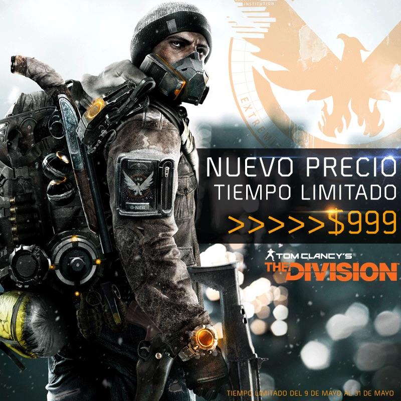 Tom Clancy´s The Division a precio especial por tiempo limitado - tom-clancys-the-division-precio-especial