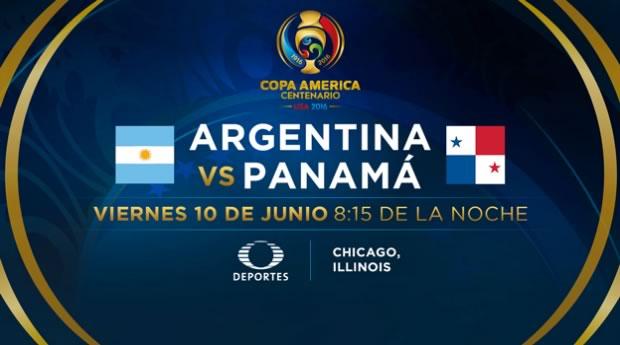 Argentina vs Panamá, Copa América Centenario | Resultado: 5-0 - argentina-vs-panama-televisa-deportes-copa-america-2016