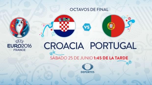 Croacia vs Portugal, Octavos de la EURO 2016 | Resultado: 0-1 - croacia-vs-portugal-en-vivo-euro-2016