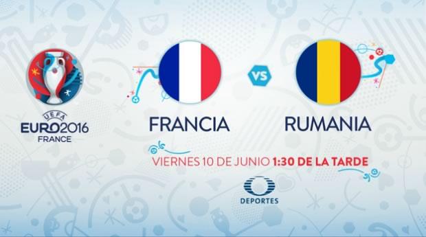 Francia vs Rumania, Eurocopa 2016   Resultado: 2-1 - francia-vs-rumania-inauguracion-eurocopa-2016
