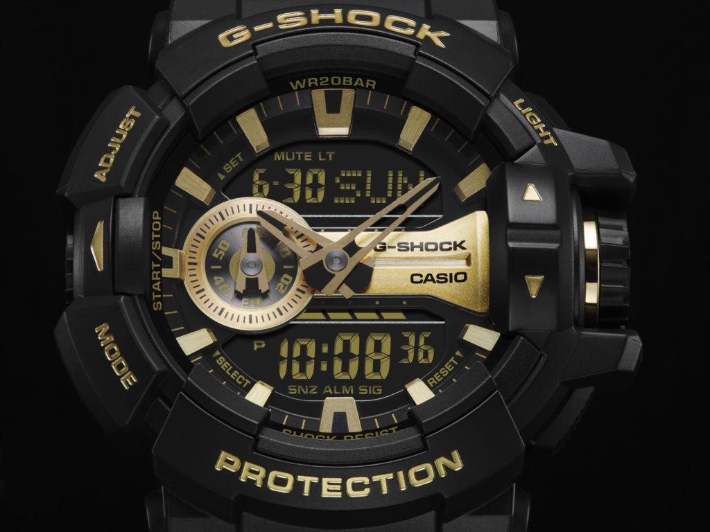 G-Shock anuncia tres nuevo modelos de su serie Metallic Dial - ga-400gb-1a9_serie-metallic-dial