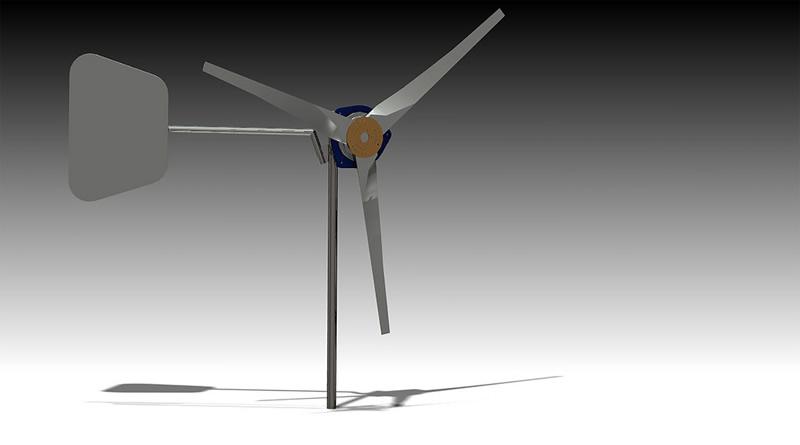 Generador eólico de baja escala nutre de energía a comunidades rurales - generador-eolico