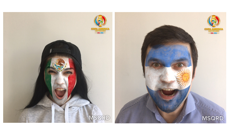 Facebook invita a ponerse las máscaras de la Copa América Centenario 2016 - mascaras-de-america-centenario-2016-800x474