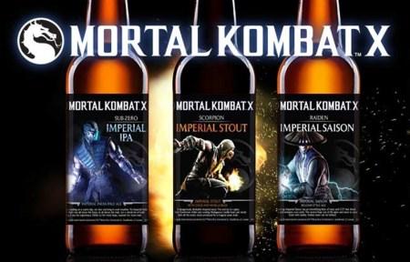 Mortal Kombat tendrá línea de cervezas artesanales