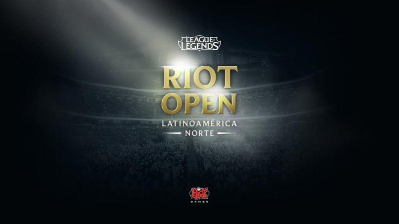 Riot Open: comienza el camino a la gloria en los E-Sports - riotopenlogo-800x450