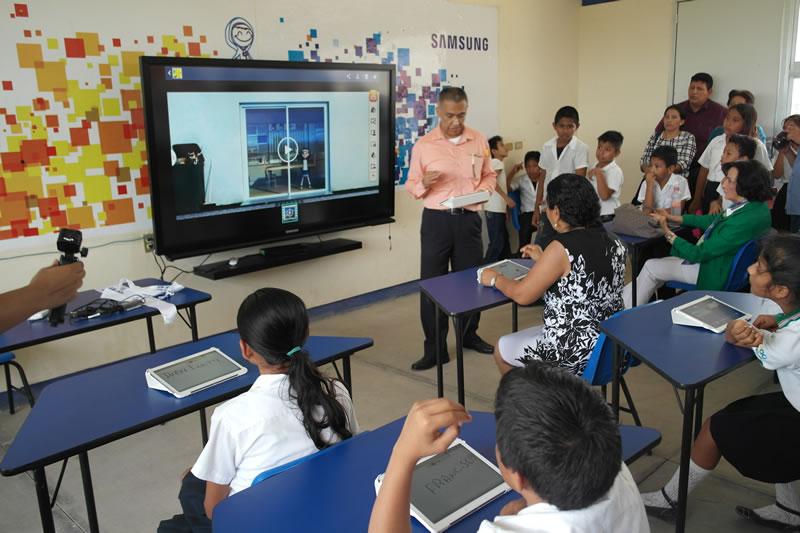 Smart School de Samsung llega a Chiapas - samsung-smart-school-chiapas