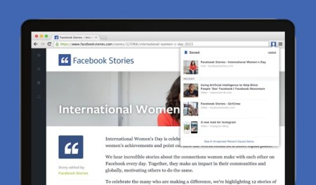 Facebook lanza extensiones para Google Chrome