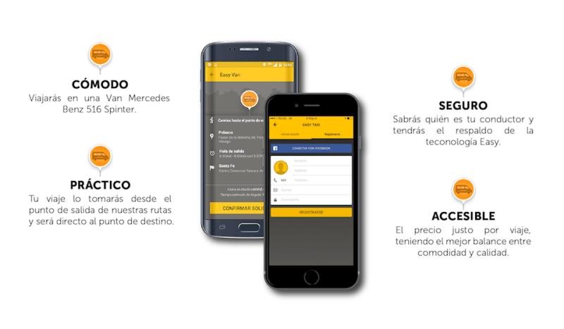 Lanza EASYVAN, nuevo servicio de traslado compartido con destino a Santa Fe - app-easy-taxi-van