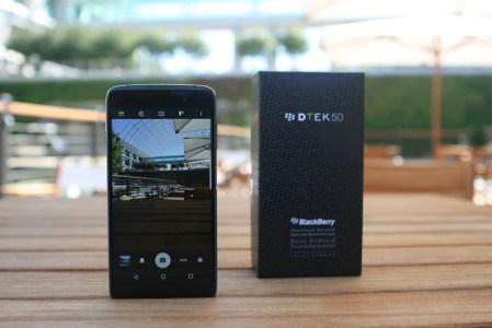 BlackBerry DTEK50, el smartphone Android más seguro del mundo
