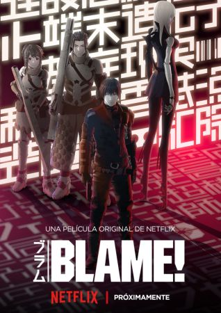 Blame!, película original anime se estrena en exclusiva para Netflix global