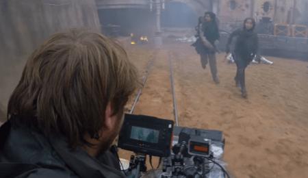 """Lanzan detrás de cámaras de """"Star Wars: Rogue One"""""""