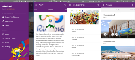 Conoce la app oficial de los Juegos Olímpicos Río 2016
