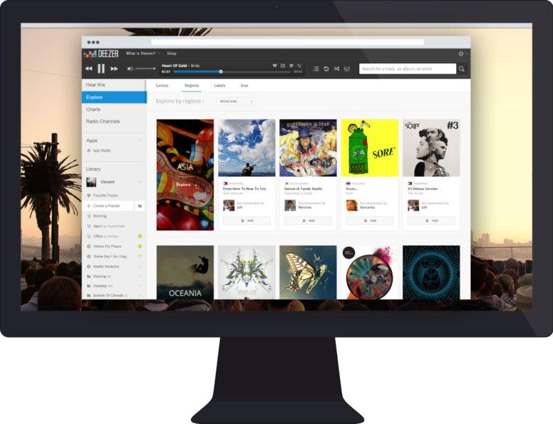 Deezer presenta nueva imagen con canales musicales dedicados - deezer_explorebyregions