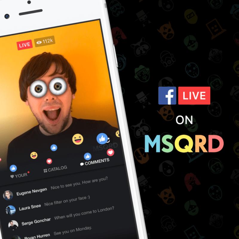 Facebook Live ahora tiene mascaras divertidas via MSQRD - facebook-live-ahora-tiene-mascaras-divertidas-via-msqrd