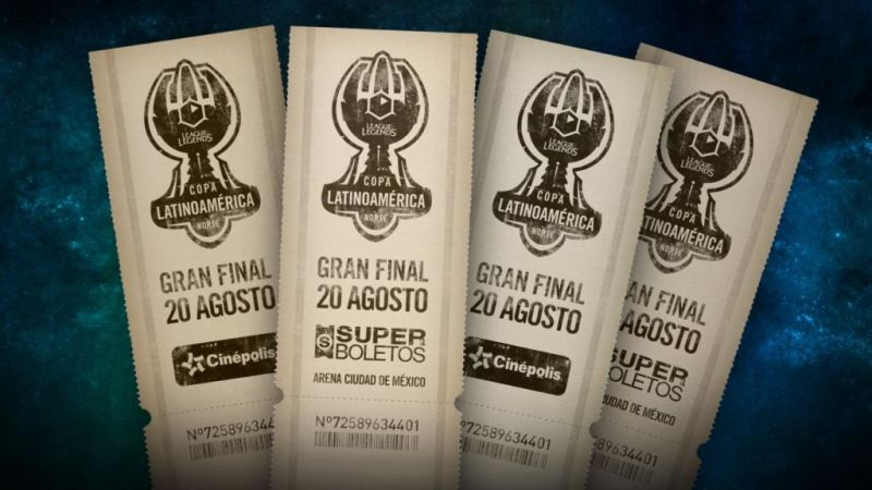 Ya disponibles los boletos de la Final de la Copa Latinoamérica Norte 2016 de League of Legends - final-cln-800x450