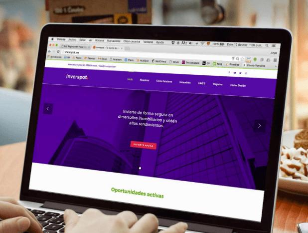 Inverspot, la startup que busca democratizar las inversiones inmobiliarias - inverspot