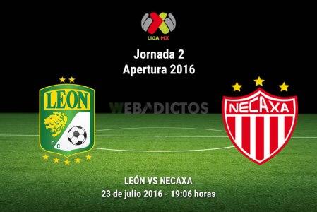 León vs Necaxa, Jornada 2 del Apertura 2016 | Resultado: 0-0