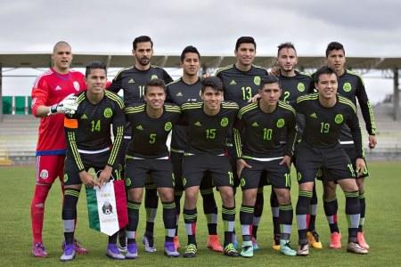 México vs Nigeria Sub 23, Partido amistoso rumbo a Rio 2016