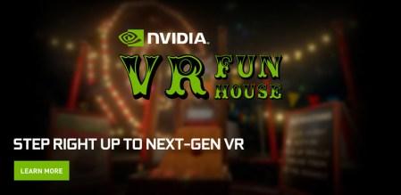 NVIDIA VR Funhouse, el primer juego de NVIDIA llega a Steam