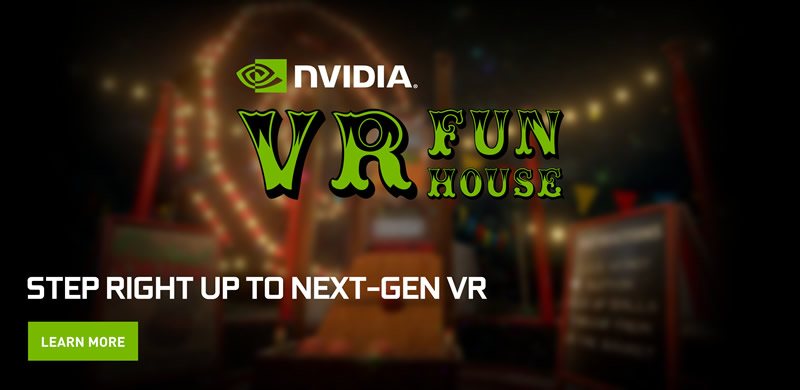 NVIDIA VR Funhouse, el primer juego de NVIDIA llega a Steam - nvidia-vr-fun-house