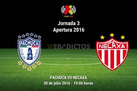 Pachuca vs Necaxa, Jornada 3 del Apertura 2016 ¡En vivo por internet!