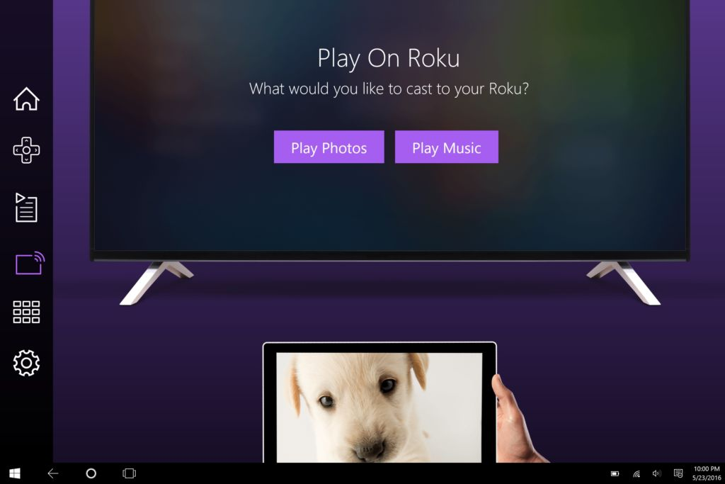 Roku App ahora disponible en Windows 10 - play-on-roku