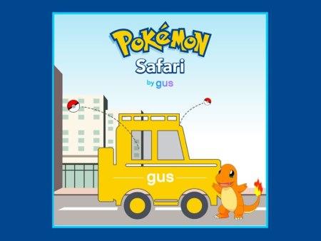 Pokémon Safari, el servicio que te lleva a cazar Pokemones