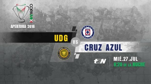 Leones Negros UDG vs Cruz Azul, Copa MX AP2016 | Resultado: 2-2 - udg-vs-cruz-azul-en-vivo-copa-mx-apertura-2016