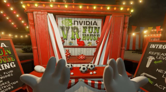 NVIDIA VR Funhouse, el primer juego de NVIDIA llega a Steam - vr-fun-nvidia-2