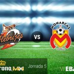 Oaxaca vs Morelia, J5 de Copa MX Apertura 2016 | Resultado: 2-1