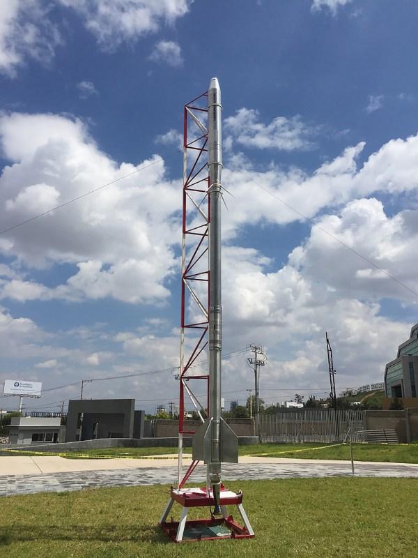"""Crean el cohete mexicano """"JFCR.2000-Pollux"""" para lanzar satélites de universidades - cohete-mexicano-600x800"""