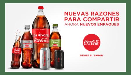 Campaña #ComparteCocaColaCon está de regreso en México