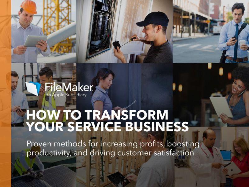 FileMaker lanza herramientas para el desarrollo de apps en pequeñas empresas de servicios - ebook-filemaker-empresas-servicio-800x600