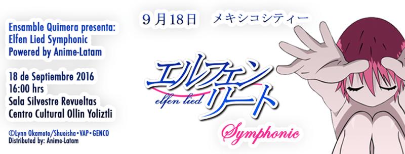 Elfen Lied Symphonic busca atraer la confianza de empresas japonesas creadoras de contenido a Latinoamérica - elfen-lied-800x305