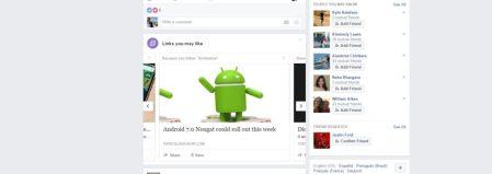 """Facebook pone a prueba """"Enlaces que te podrían gustar"""""""